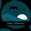 Stock vektor: Halloween design background