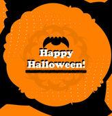 Halloween vektor kort — Stockvektor