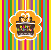 Happy birthday. vector illustration — Stock vektor