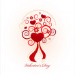 Valentine's day card — Stock Vector #19074813