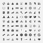 Set van web iconen — Stockvector
