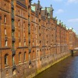 Speicherstadt in Hamburg — Stock Photo #12538673