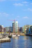 Speicherstadt Hamburg nord ünlü hafencity — Stok fotoğraf
