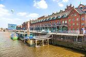 Speicherstadt in Hamburg — Stock Photo