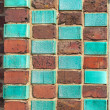 Bricks in art nouveau style - Stock Photo