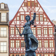 Lady justice in Frankfurt — Stock Photo #12686193