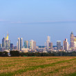 Skyline of Frankfurt — Stock Photo