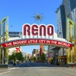 Reno The Biggest Little City in the World. — Stock Photo
