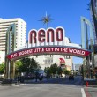 Stock Photo: Reno Biggest Little City in World.