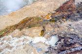 Heißen schlamm topf in lassen nationalpark — Stockfoto