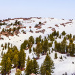Stock Photo: Snow on Mount Lassen in national park