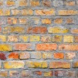 Background brick wall. Old house brickwall texture - 图库照片