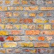 Background brick wall. Old house brickwall texture - Stock Photo
