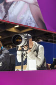 PHOTOKINA, COLOGNE - SEPTEMBER 21: Photokina - World of Imaging, — Stock Photo