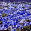 Stock Photo: Jodhpur, blue city in Rajasthan