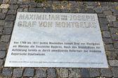Statue of Graf Maximilian Joseph von Montegelas — Stock Photo