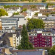 Aerial of Bonn, the former capital of Germany - Zdjęcie stockowe