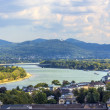 Stock Photo: Aerial of Bonn, former capital of Germany