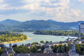 Aerial of Bonn, the former capital of Germany — Stock Photo