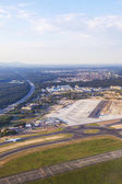 Aerial of airport Rhein-Main — Stock Photo