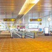 Airport hall in Delhi — Stock Photo