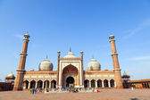 Jama Masjid Mosque, old Delhi, India. — Stock Photo