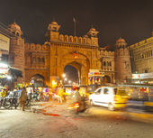 Gate in the old city of Bikaner rajasthan state in india — Stock Photo