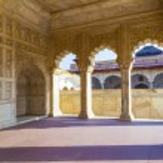 Red Fort in Agra, Amar Singh Gate, India, Uttar Pradesh — Stock Photo #14698251