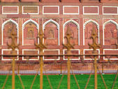 Jahangiri Mahal in the red Fort in Agra — Stockfoto