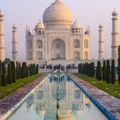 Stock Photo: Taj Mahal in sunrise light, Agra, India