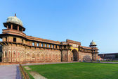 Jahangiri Mahal in the red Fort in Agra — Photo