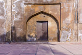 Locked door at Agra Red Fort — Stock Photo