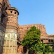 Red Fort in Agra, Amar Singh Gate, India, Uttar Pradesh — Stock Photo