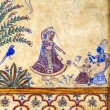 Frescoed Havelis in Bikaner - Stock Photo