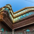 Beautiful old haveli in Bikaner - Stock Photo