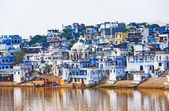 View of the City of Pushkar, Rajasthan, India. — Stock Photo