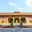 Chandra Mahal in City Palace, Jaipur, India - Stock Photo
