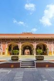 Chandra Mahal in City Palace, Jaipur, India. It was the seat of — Stock Photo