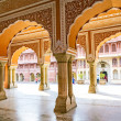 Stock Photo: ChandrMahal in City Palace, Jaipur, India