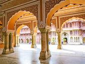 钱德拉 · 玛哈尔在城市宫殿、 斋浦尔、 印度 — 图库照片