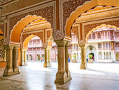 Chandra Mahal in City Palace, Jaipur, India — 图库照片