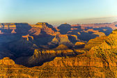 Grand Canyon at Mathers point in sunset light — Stock Photo