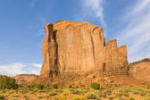 The Butte is a giant sandstone formation in the Monument valley — Stock Photo