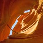 Antelopes Canyon, the world famous slot canyon — Stock Photo #16615219