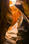 Antilopen canyon, de wereld beroemde slot canyon — Stockfoto