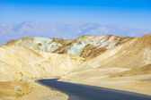 Artists Drive road, Death Valley National Park — Stock Photo