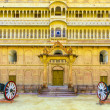 Stock Photo: Canon in old fort in Bikaner