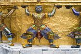 Vakter i templet emerald buddha, wat phra kaeo i den — Stockfoto