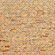 Beige yellow brick wall — Stock Photo #17170265