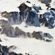 Aerial view of the antarctica — Stock Photo #17172935